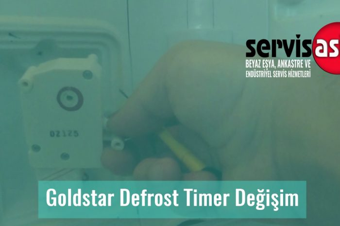 Goldstar Defrost Timer Değişim